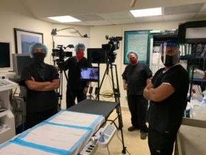 Small expert video crews are now utilized in a post pandemic world